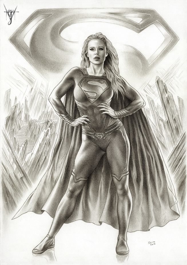 SUPERGIRL - THE WOMAN OF STEEL by jairolago