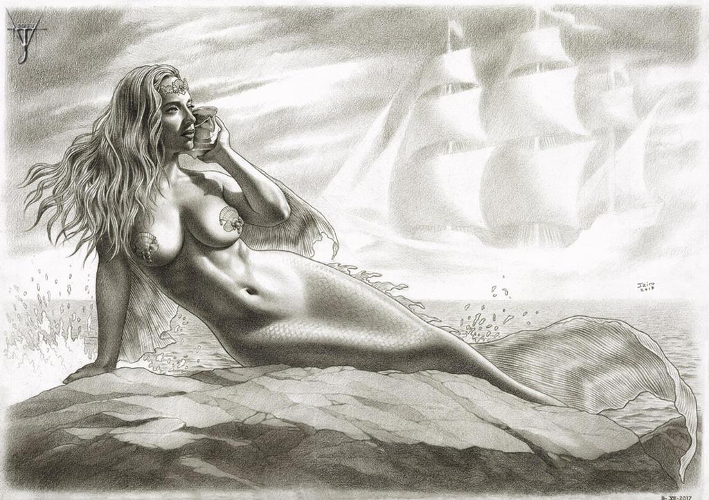 OCEAN OF MERMAID'S DREAMS by jairolago
