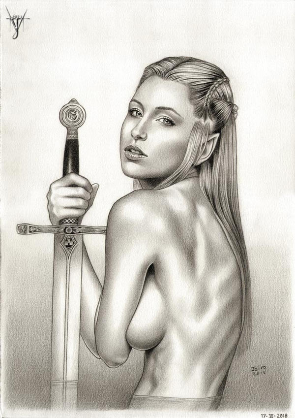 EXCALIBUR - LADY OF THE LAKE by jairolago