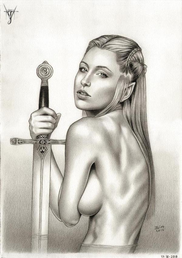 EXCALIBUR - LADY OF THE LAKE by jairolago