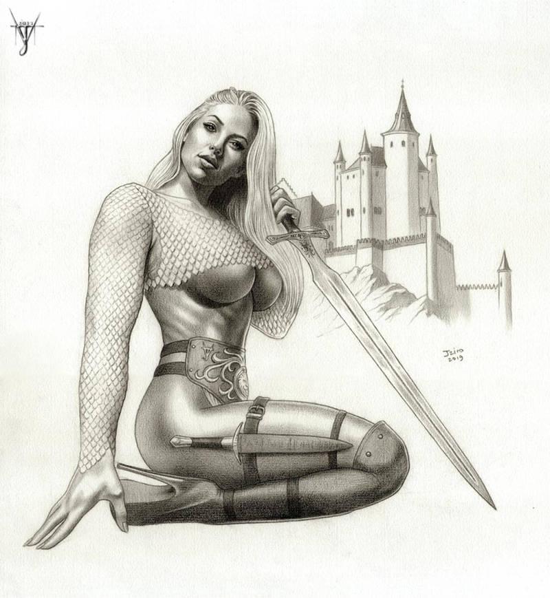 THE SWORDSWOMAN FROM CASTILE by jairolago
