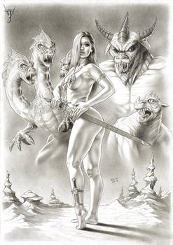 THE BEAUTY AND THE BEASTS