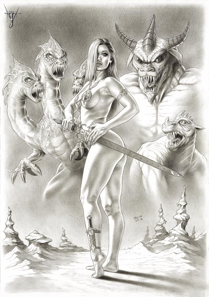 THE BEAUTY AND THE BEASTS by jairolago