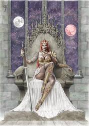 DIE MONDKONIGIN - cover artwork
