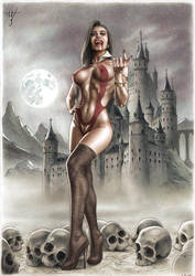 VAMPIRELLA variant cover artwork