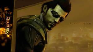 Deus Ex: HR - Adam Jensen by HalUet