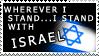Wherever I stand stamp by DaniWolfdog