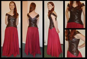 LOTR Elven (inspired) Dress
