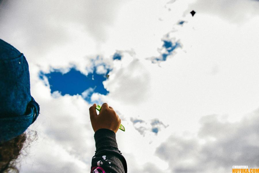 Day 1: Kite Flying by Nuyoka