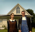 American Gothic - Miller style