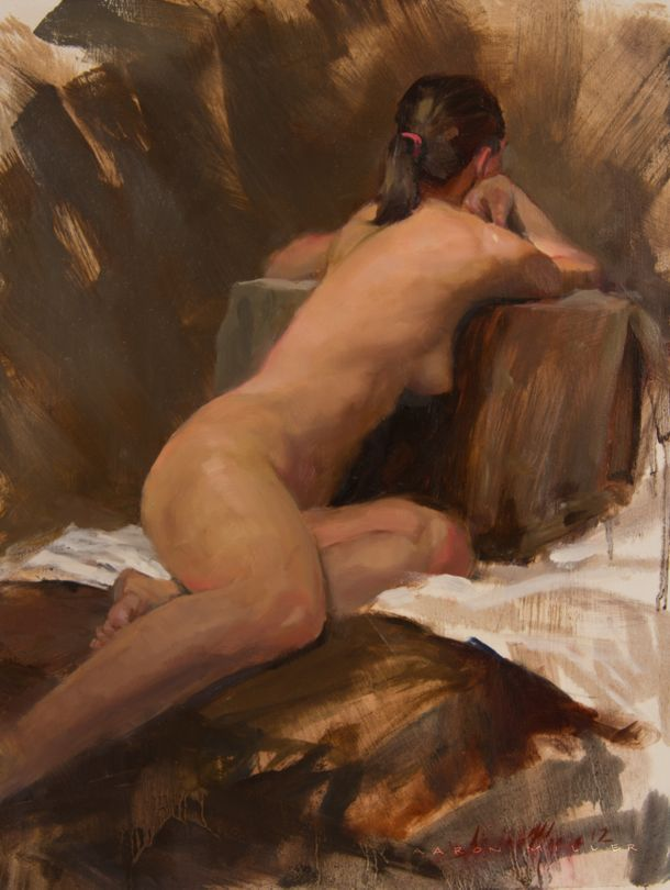 Figure Study no. 218 by AaronMiller