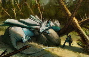 Dragon of Ravensford by AaronMiller