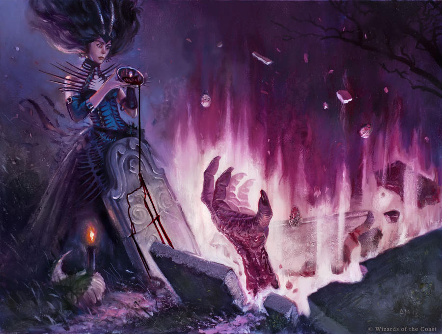 Unmake the Grave - MtG by AaronMiller