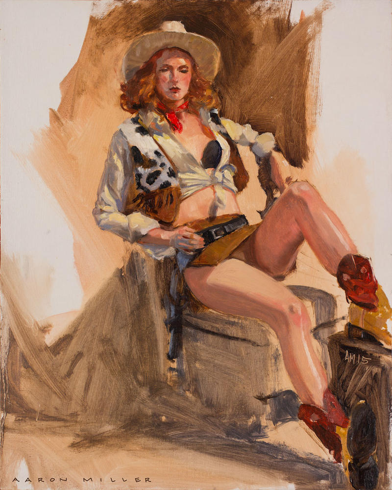 Cowgirl by AaronMiller