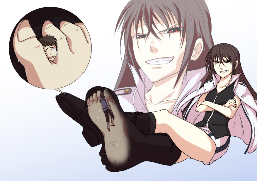 Naked Girl With Socks And Shoes Anime