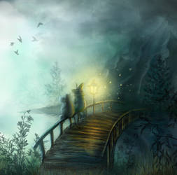 Moomin bridge by MariaHobbit