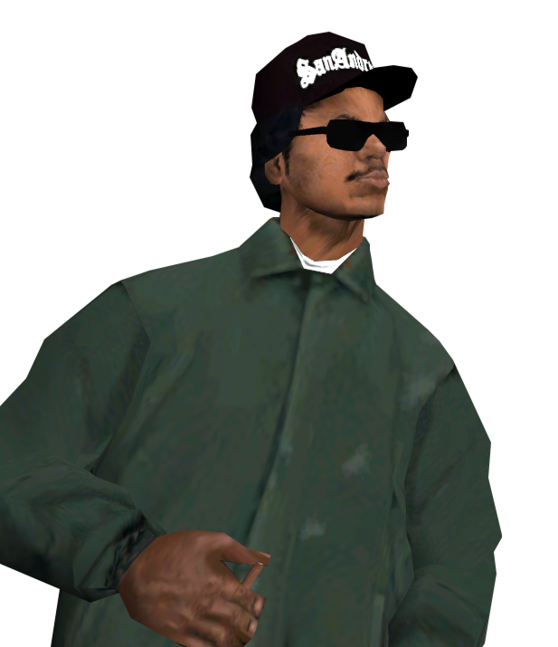 GTA San Andreas Ryder Render By Zractal On DeviantArt