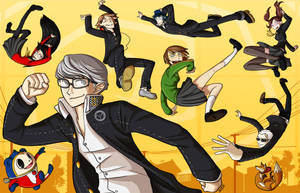 Grab your Glasses - Persona 4