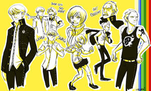 P4 Doodles by wallabri