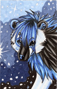Child of the Stars ACEO