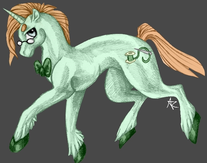 Mintread (colored) by Thunderflight