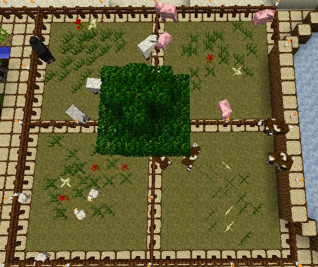 how to find animals in minecraft