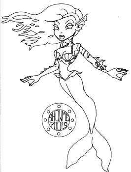 showmepools mermaid by HellsBelle666