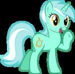 Lyra saluting