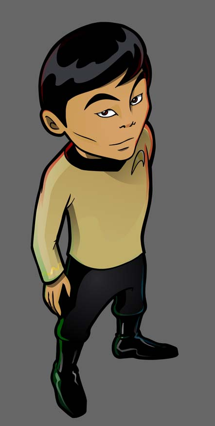 Old School Sulu by inneryoung
