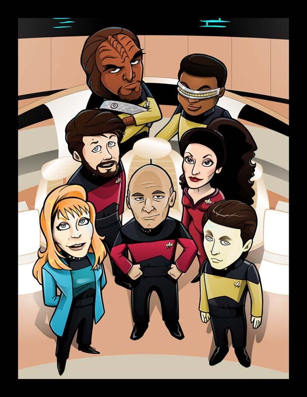 Star Trek TNG by inneryoung