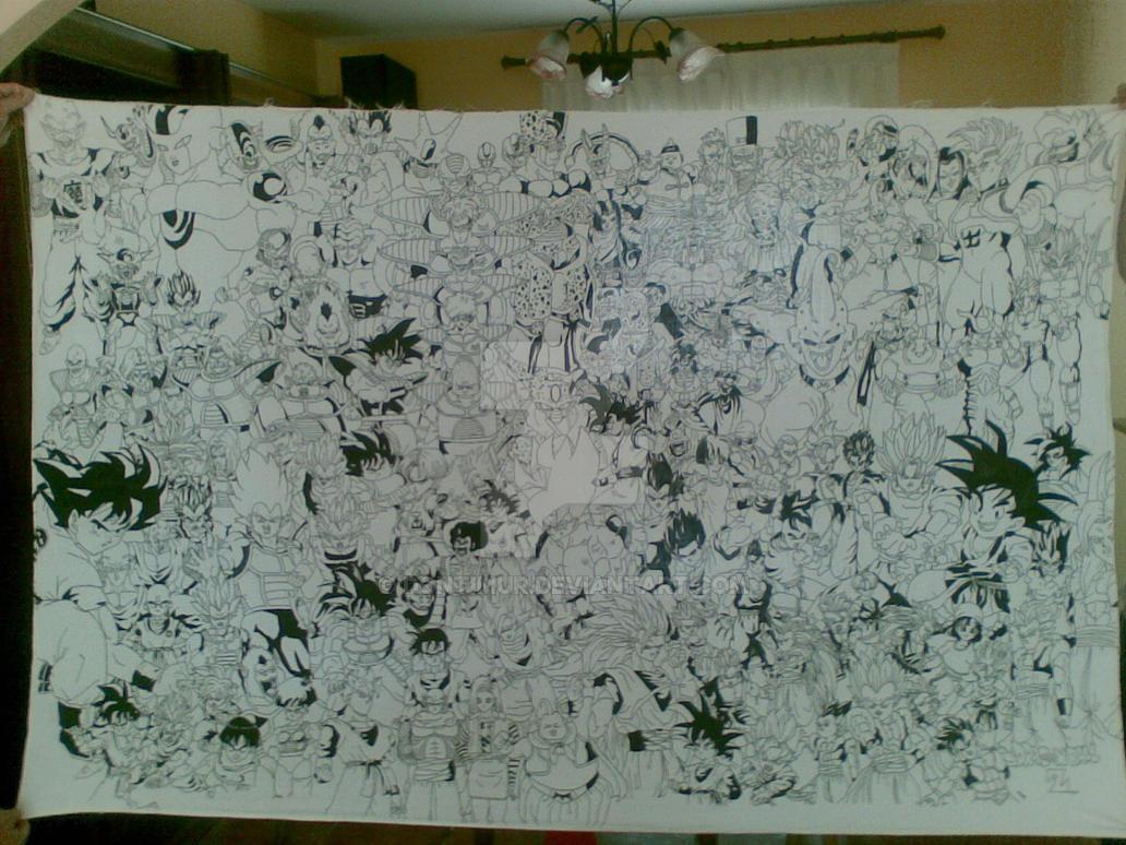 Goku y Cia. by dontimur