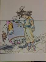 Dragon Ball - Death of goku by dontimur