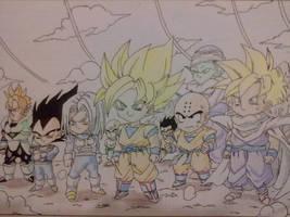 Chibi: Dragon Ball - Saga Cell by dontimur