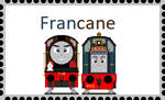 FranCane Stamp by indominus4356