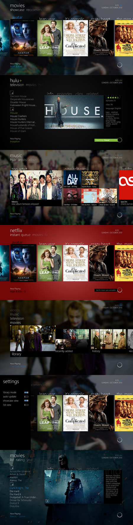 Metro UI for XBMC by Dvoracc