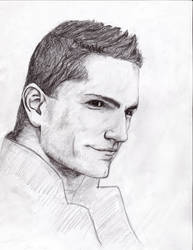 Sam Witwer Sketch by FringeFx