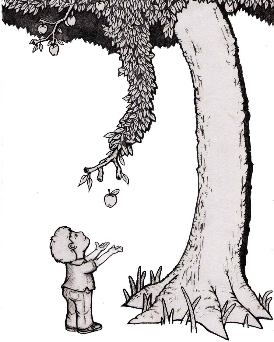 Giving Tree by MurangeloThe Giving Tree Illustrations