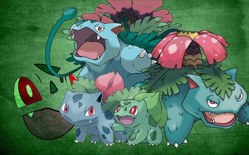 bulbasaur evolution wallpaper images - photo #12