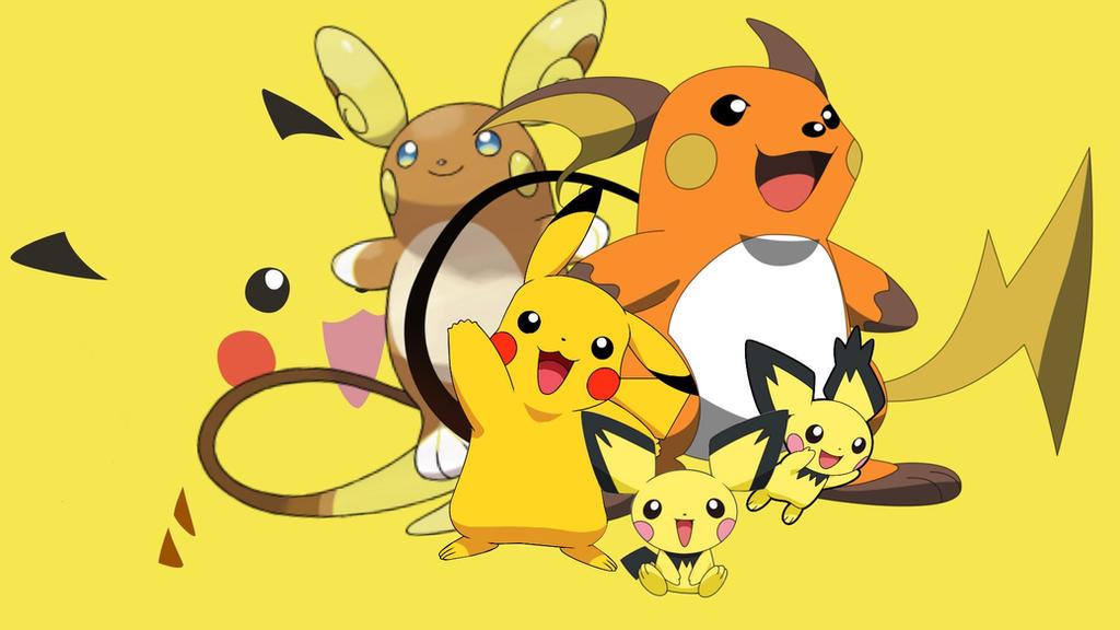 Pokemon Pikachu Evolution Pokemon Y Images   Pokemon Images