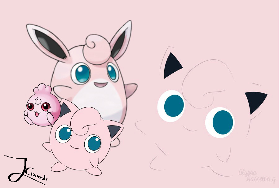 Jigglypuff Evolution Backgroundwallpaper By Jaceymon On Deviantart