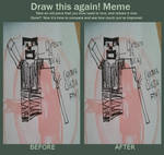 Before and After meme: [zero]