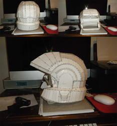 Halo 3 Marine Helmet Pepakura