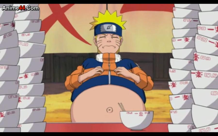 Naruto: Big ol' gut by HunterWolfTraveler