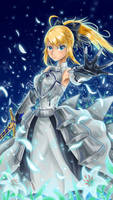 Saber Lily by FlamesSoul