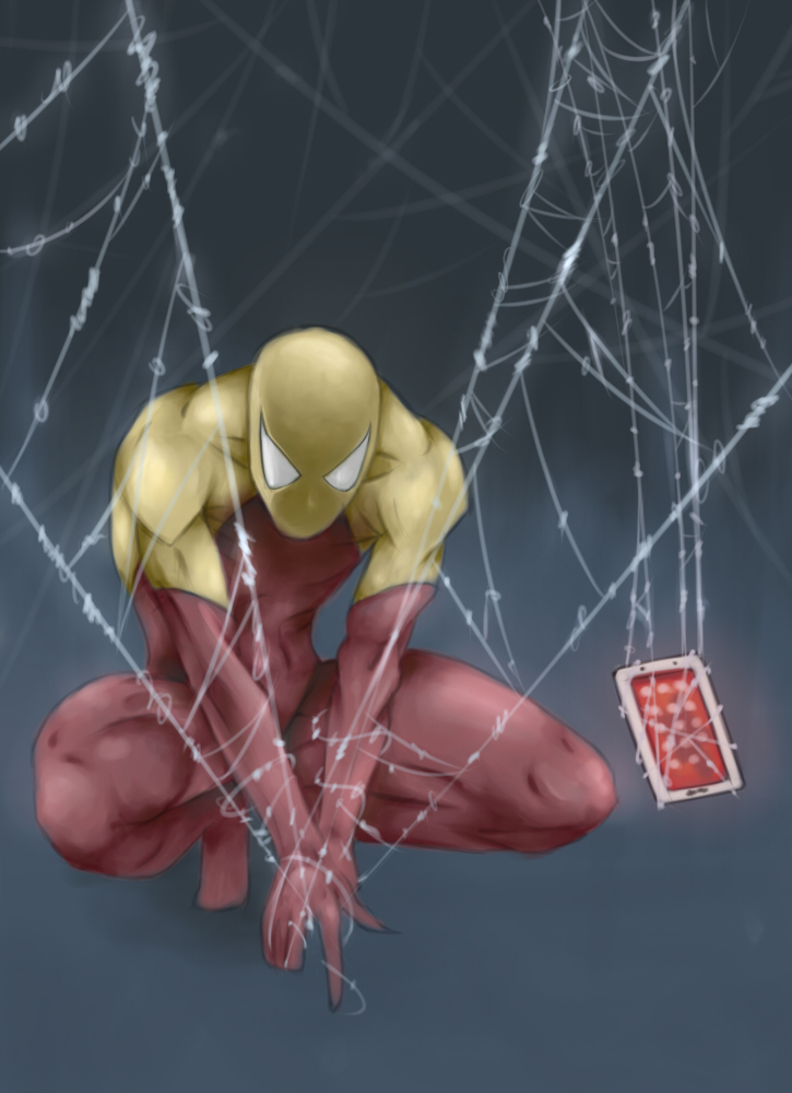 Spiderman *TheTopComic* by Painter-One