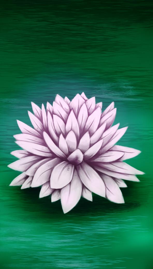Flor de Loto by Painter-One