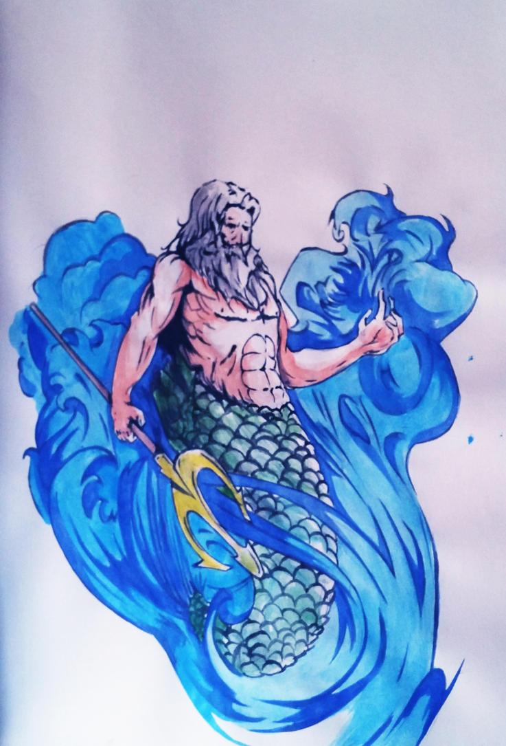 Poseidon by Painter-One