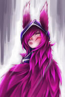 Xayah by Painter-One