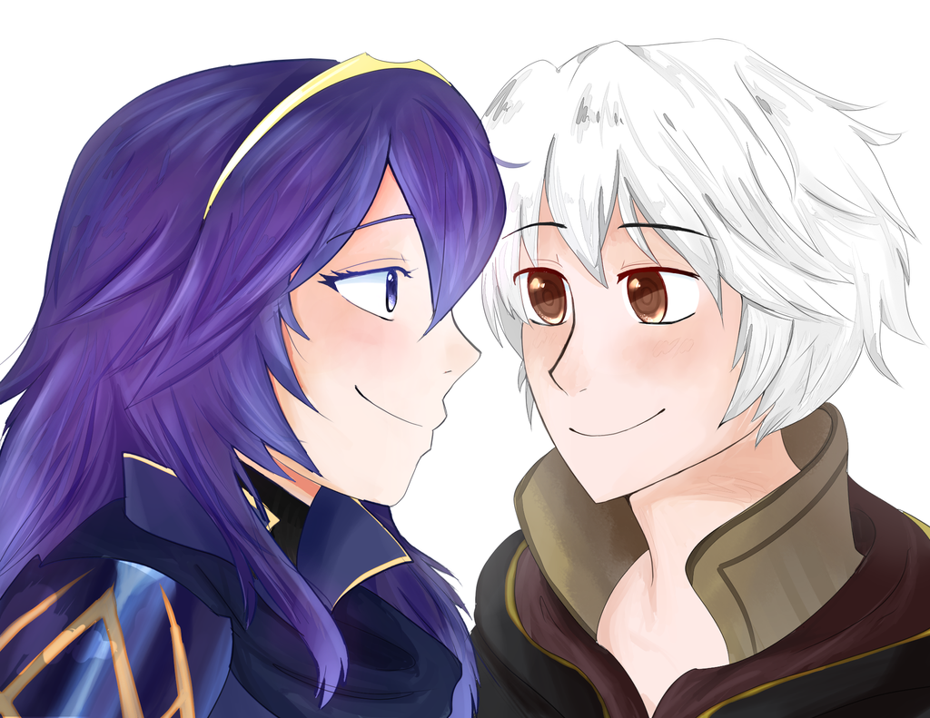 lucina and robin by appleriddles on deviantart