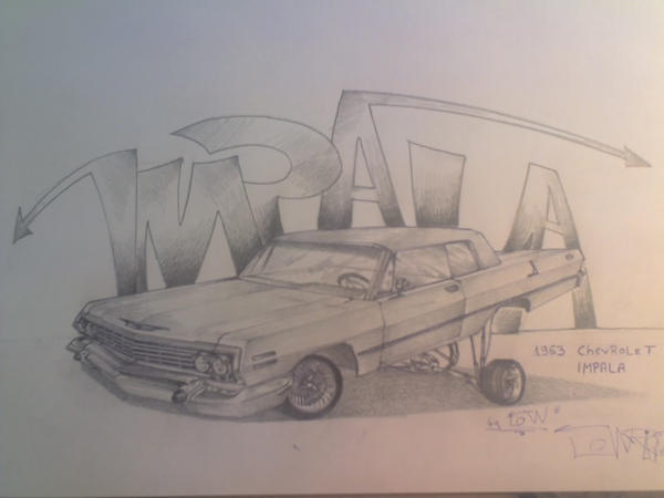 63 Chevy Impala Lowrider by Lowrider4Ever on DeviantArt